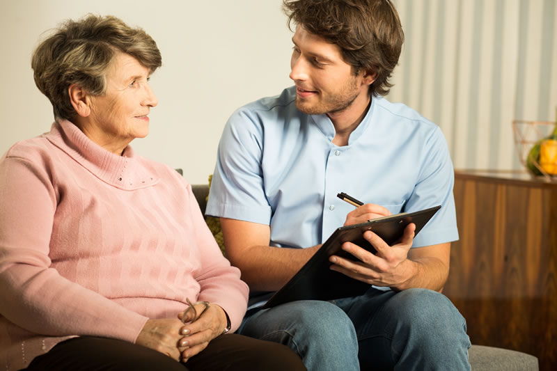 elder care interview